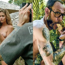 Terry Richardson Gets Topless