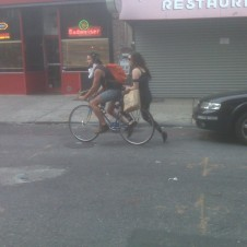 Two People, One Bike