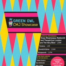Green Owl CMJ Showcase