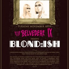 BLOND:ISH @ CENTURY ROOM 5TH YEAR ANNIVERSARY