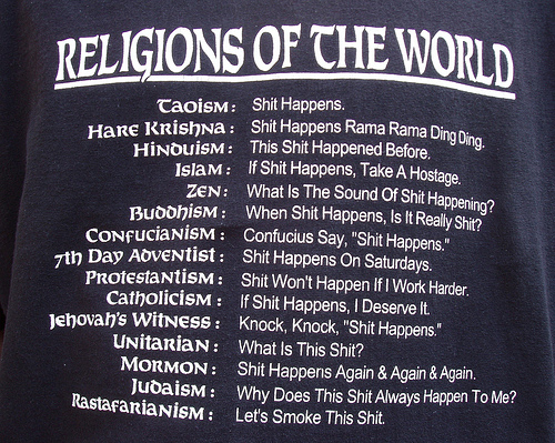Image result for religions of the world funny