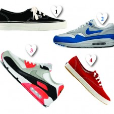 hearty's Top Ten Sneakers