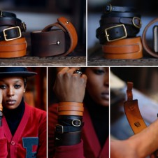 The Brooklyn Circus: Leather wrist bands…