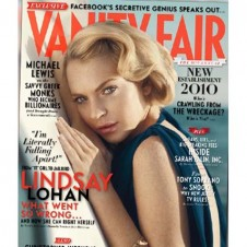 LOHAN FOR VANITY FAIR