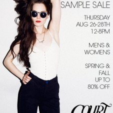 Sophomore Sample Sale