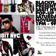 "Sabit NYC X The BFS ""Pop Up Shop"""