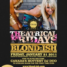 Blond:ish @ stirling room toronto friday jan 21st