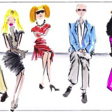 5 FAVE FASHION ILLUSTRATORS