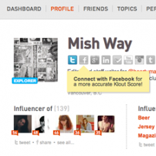 KLOUT (@Jess_Bloom)