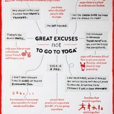 Excuses Not to Go To Yoga