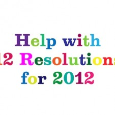 12 Resolutions for 2012