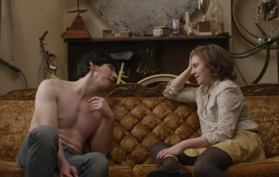 Adam and Hannah from Girls