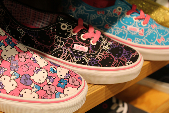 3dfb111ac7 See a sneak peek of the upcoming Vans x Hello Kitty collection for f w  12  below.