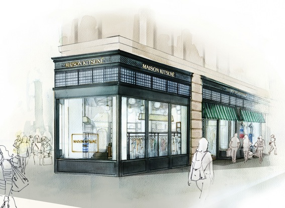 Maison Kitsune To Open A New York Store That Will Celebrate Both Parisian And American Culture Converging Fashion