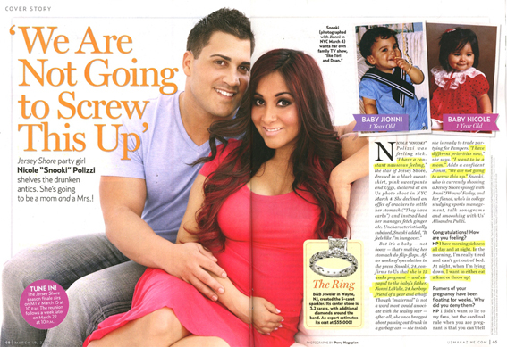 Snooki and Pregnant