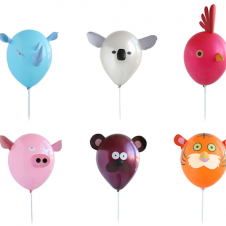Animal Balloons at Top Shop