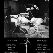 WHITE LUNG IN NYC IN APRIL