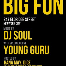Special Guest Young Guru at Big Fun Tonight