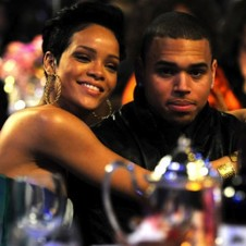 RiRi and Breezy Make Out