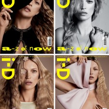 Kate Moss' 17 i-D Covers