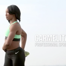 Get Fit with Carmelita Jeter