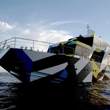 A Yacht Dedicated to Art