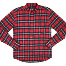 ONLY NY State Flannel Shirt