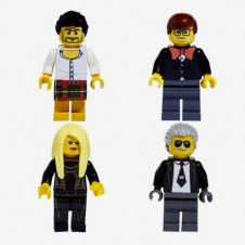 Fashion Designers as LEGOs