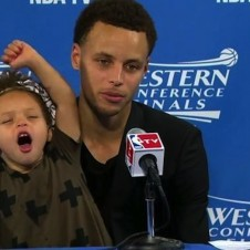 You're Going to Want To Watch Riley Curry's Press Conference