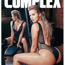 Khloé Kardashian Gets Physical on The Cover of Complex