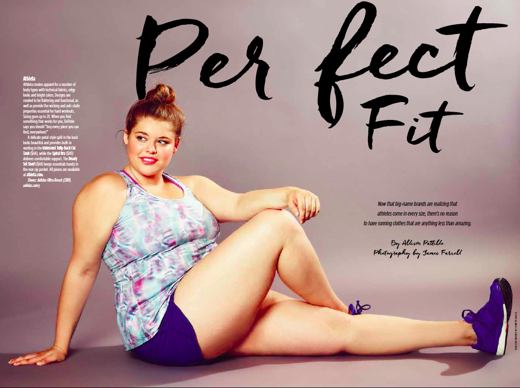 hearty magazine | first plus-size model featured on the cover of