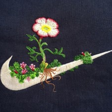 James Merry Embroiders a New Twist on Sports Logos