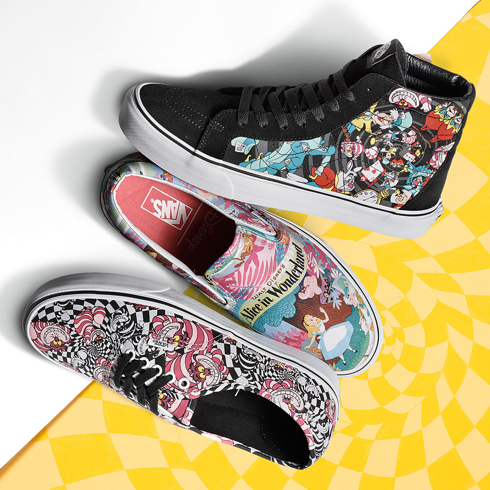 7b41d8f830 Get ready to feel nostalgic. Vans has taken characters from your favorite  childhood movies and put them on their shoes for …